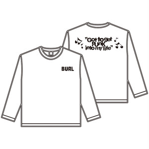 【XLのみ】GOT TO GET PUNK LONG SLEEVE(WHITE)