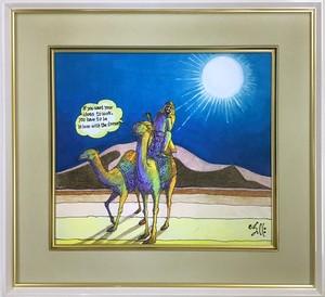 Jean-Pierre Anpontan 原画「夢があるのなら」オリジナルアート作品