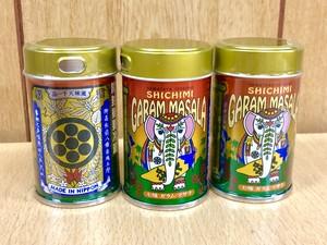 八幡屋礒五郎 七味ガラム・マサラ  缶12g