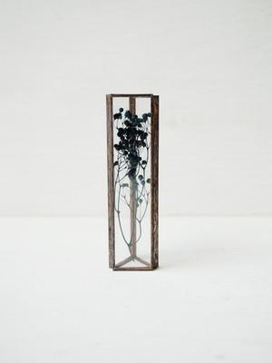 HACOMIDORI 植物標本 かすみ草 indigo blue(小)