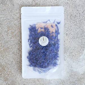 【87farm】業務用 食べられる ドライフラワー(コーンフラワー ブルー ) エディブルフラワー