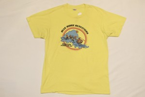 USED 80s BLUE RIDGE OUTFITTERS T-shirt -Large 01082