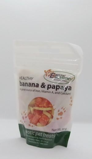 【EXOTIC NUTRITION】バナナ&パパイヤおやつ