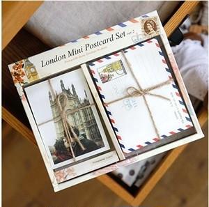 ミニポストカードセット Ver.2 ロンドン