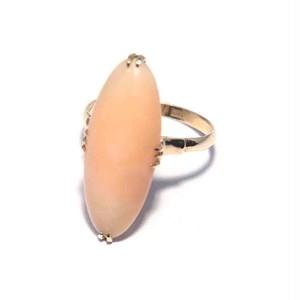 Vintage Japanese Ring - K18 Coral #12