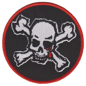 """BLOOD FOR BLOOD """"Skull"""" Patch"""
