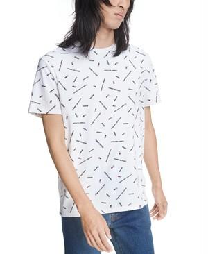 TOMMY HILFIGERトミーヒルフィガー 10521467 Craven Craven Allover Logo ロゴ 総柄 Tシャツ