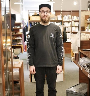 【送料無料】BURR Long Sleeve - Black