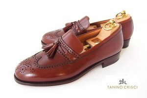 タニノクリスチ|TANINO CRISTI|タッセルローファー|6.5|ブラウン