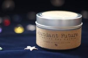 Abundant Future〔豊かな未来〕  アロハエリクサーキャンドル(メッセージカード付)
