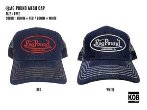 RAG POUND MESH CAP