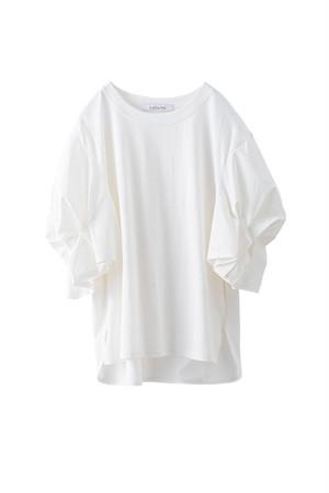 バドスリーブTシャツ <オフ>