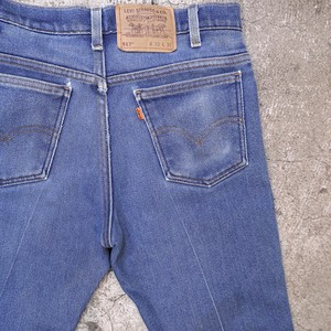 "90's Levi's 517 denim pants ""stretch  model"""