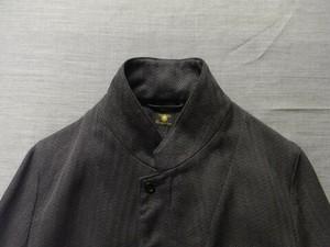 classiqued tailor jacket / darkgrey