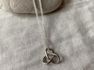 〈vintage silver925〉solid motif necklace