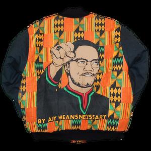 """Malcolm X"" Vintage Cotton Jacket Used"