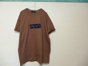 alookonbooks リメイク kohu+3star Tee <koes> L brown