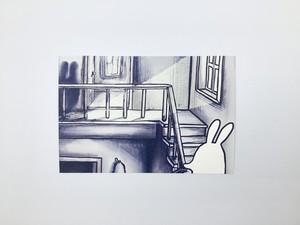 usagi ポストカード「夢で見たあなた」