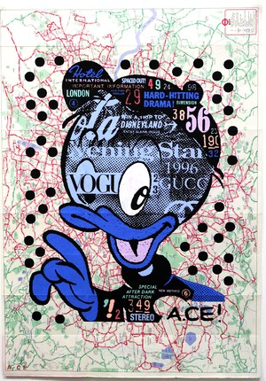 A.CE/Original paste up