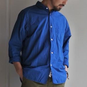 LASSO Spoon Shirts relax 正藍染 メンズ 藍染め シャツ