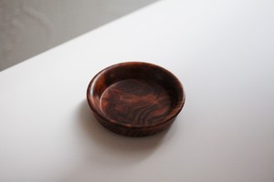 肥松の豆皿 (6.7cm) Pinewood Small Dish 20th C