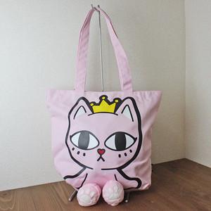 【Toby Black】トートバッグ(PINKY・ピンク)【猫柄 香港ブランド】