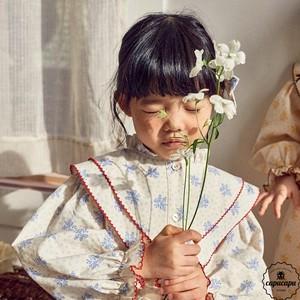 «予約»«pour enfant» ダイアナワンピース Diana one piece