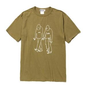 WL LOVE & HATE T-Shirt (WHITE LINE )