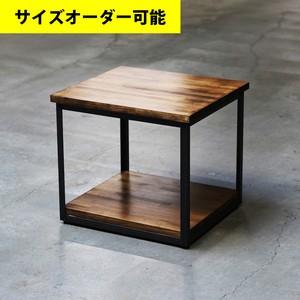 IRON FRAME SIDE TABLE[BROWN COLOR]サイズオーダー可