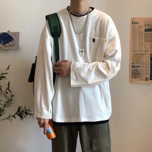 ベーシックカラーレイヤードTシャツ BL4300