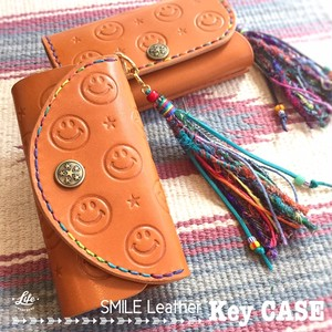 SMILE Leather Key CASE