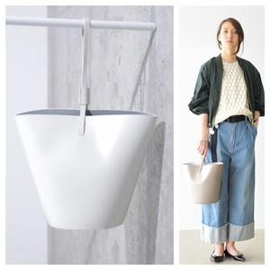 【定価17,380円】美品 YAHKI ヤーキ 鞄 バケツ型バッグ