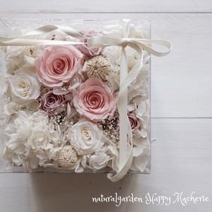 プリザーブドフラワー Box Flower