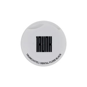 TRUNK Dental Floss White/Black
