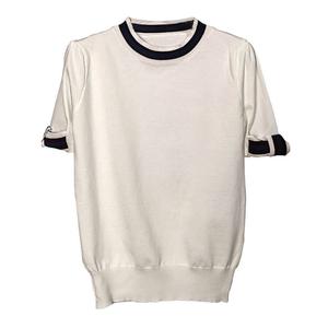 シック ラウンドネック セーター【R0593】