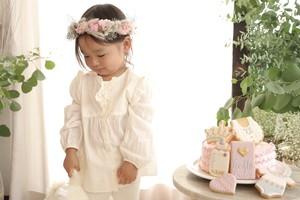 Baby花冠&アイシングクッキー《Princess Pink》