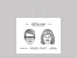 紙袋 : PAPER BAG L