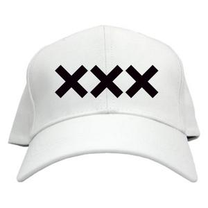 ERICH / XXX LOGO CAP WHITE