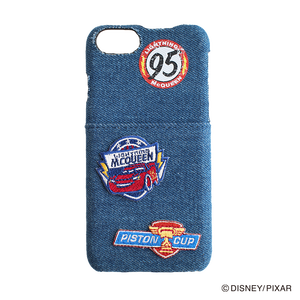 DISNEY・PIXAR/Cars/iPhoneケース Embroidery/YY-D007 BL