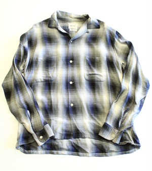 Vintage Penny's Towncraft ombré check shirt