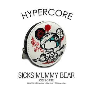 A-350H SICKS MUMMY BEARコインケース