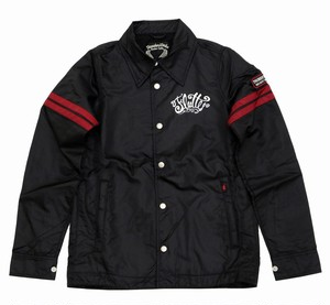 TW&FL Windbreaker Black/Red WB-01