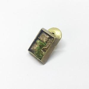 石壁チョウホウケイブローチ/brass