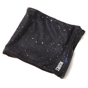"RUDIE'S / ルーディーズ |  "" FLEECE NECK WARMER "" Black Galaxy"