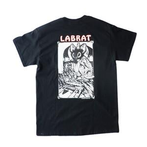 "LABRAT×Peter Paquin ""Rat Killer"" Tee 黒"