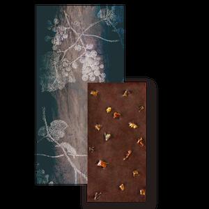 【季節のチョコレート】レーズントッピングダークチョコレート(ミニサイズ)