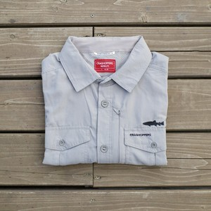 Adventure Ⅱ Long sleeve shirt by CRAGHOPPERS / アドベンチャー Ⅱ ロングスリーブシャツ クラッグホッパーズ