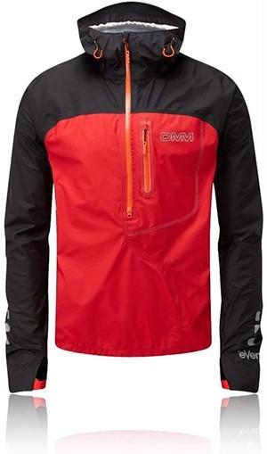 OMM/オーエムエム/オリジナルマウンテンマラソン OMM Aether Smock Running Jacket Black/Red イーサースモックランニングジャケット ブラック/レッド OC08200