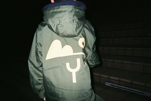 BOY LOGO MILITARY COAT(KAHKI①)