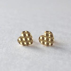 Heart Earring/ moku moku シリーズ